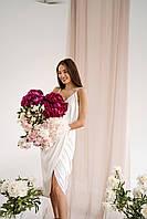 Плаття-комбінація, шовк армані (не просвічує, в плаття 2 шари тканини), на ОГ до 98 см
