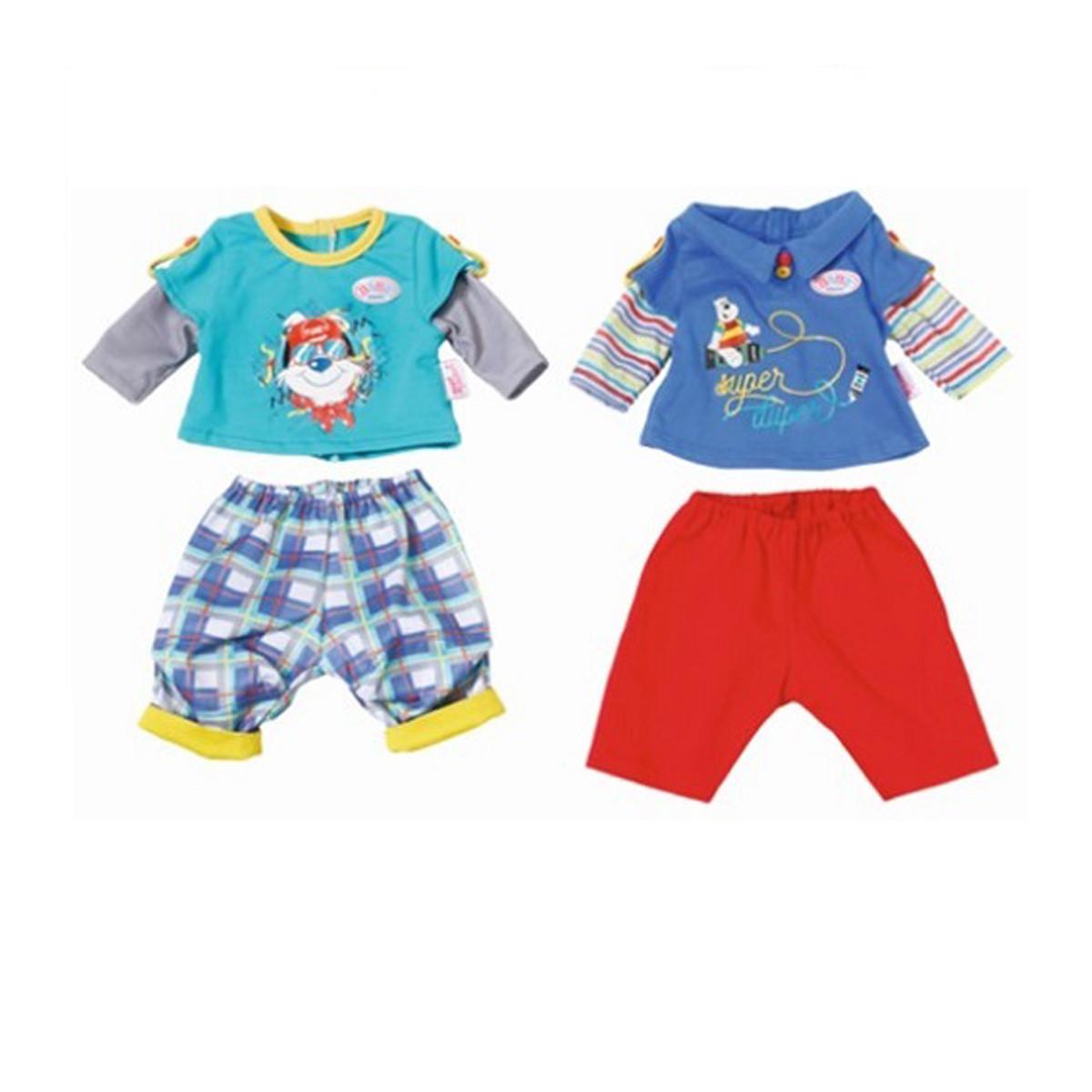 Набір одягу для ляльки BABY BORN - МАЛЮК НА ПРОГУЛЯНЦІ (2 в асорт.), 823927