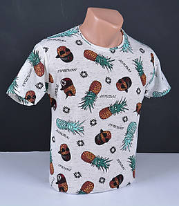 Мужская футболка ананаси Турция 2438