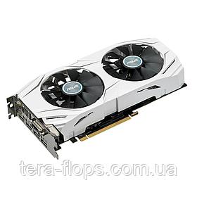 Видеокарта GTX 1060 3GB ASUS DUAL (DUAL-GTX1060-3G) Б/У / Trade-in / TeraFlops