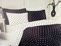 Комплект постельного белья Maison D'or Star Antrasit сатин 220-200 см черный