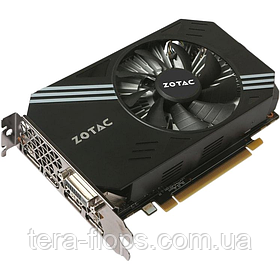 Видеокарта GTX 1060 6GB Zotac Mini (ZT-P10600A-10L) Б/У / Trade-in / Tera-Flops