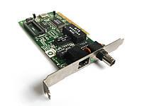 Мережева карта Ethernet LAN PCI 10M + BNC бу