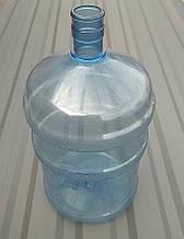 Бутель для води полікарбонатний БО 18,9 літрів без ручки з кришкою ПЕТ для кулера під помпу