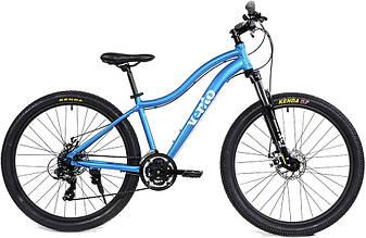 Горный велосипед Vento Mistral 27,5 S 2020 женский, голубой