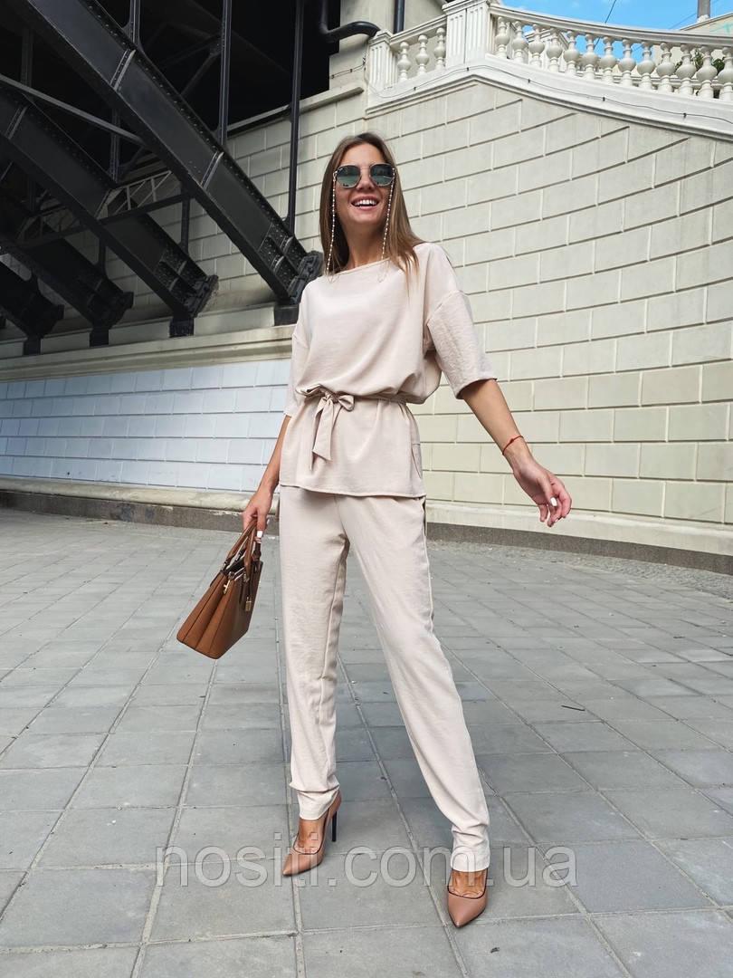 Костюм жіночий річний блуза і штани