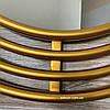 Дзеркало в передпокій в золотій рамі Lana, фото 7