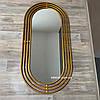 Дзеркало в передпокій в золотій рамі Lana, фото 3