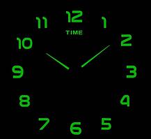 Люминесцентные Светящиеся Фосфорные 3Д часы 3D DIY Clock от 70 до 150см 002F Арабские цифры