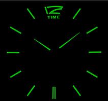Люминесцентные Светящиеся Фосфорные 3Д часы 3D DIY Clock от 70 до 150см 005F Палочки