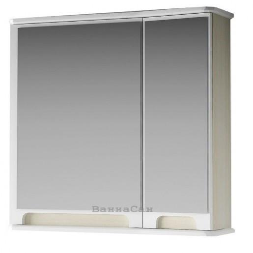 Зеркальный шкаф-трельяж для ванной 65 см ВанЛанд ВЕНЕЦИЯ Вз 1-65