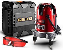 Лазерный уровень нивелир DEKO LL58R-SET1 в боксе