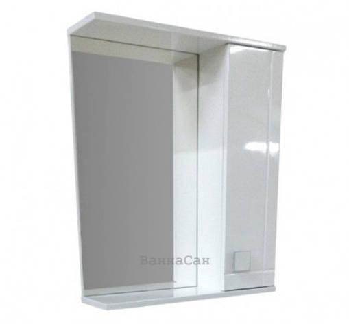 Зеркало для ванной 55 см ВанЛанд АЛЕКСАНДРИЯ Аз 3-55, фото 2