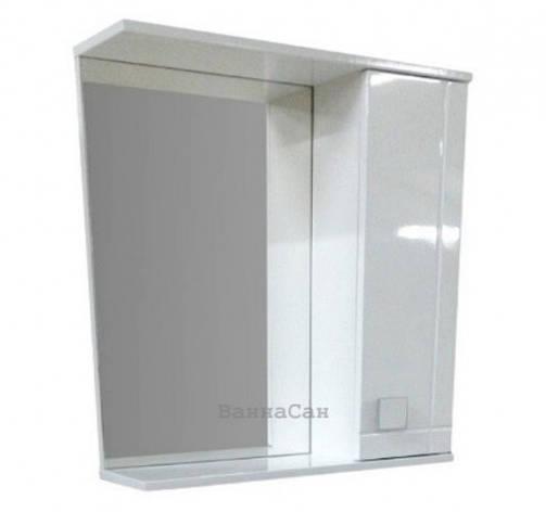 Зеркало для ванной 70 см ВанЛанд АЛЕКСАНДРИЯ Аз 3-70, фото 2