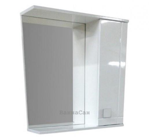 Зеркало для ванной 70 см ВанЛанд АЛЕКСАНДРИЯ Аз 3-70