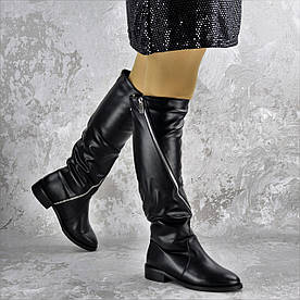 Сапоги женские Fashion Sage 2180 36 размер 23,5 см Черный