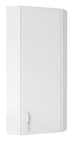Узкий навесной шкаф для ванной 30 см ПИК БАЗИС ШН0130R