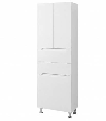Шкаф-пенал для ванной 60 см ПИК СИМПЛ П11К60, фото 2