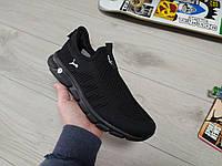 Мужские летние кроссовки Puma черные