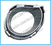 Окуляр решетки под птф VW Touareg 07-09 хром, левый (FPS) 7L6853399