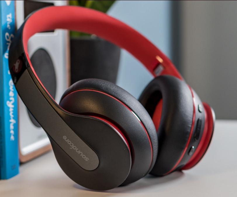 Навушники Anker Soundcore Life Q10 black-red