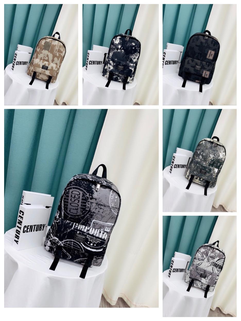 Рюкзак мужской стильный городской тканевый в разных цветах 44*30 см Mark