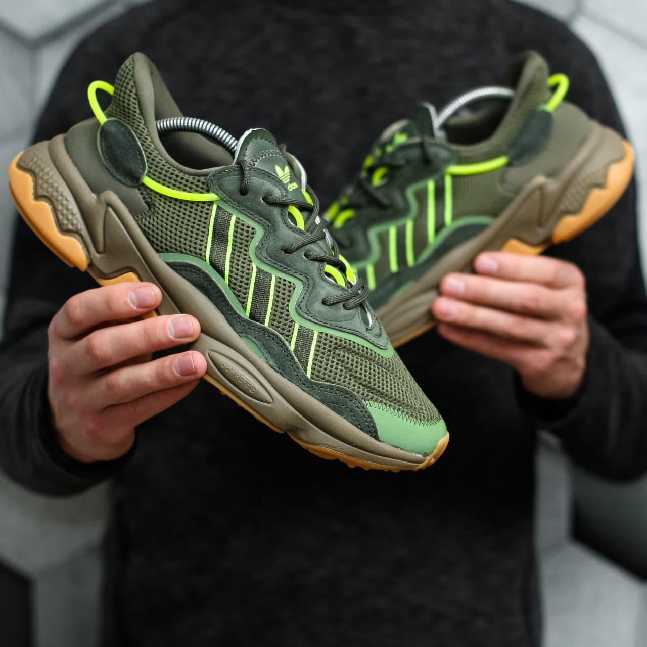 Мужские кроссовки Adidas Ozweego Adiprene pride