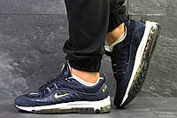 Кроссовки мужские Nike 97,демисезонные,синие 42,44 размеры!