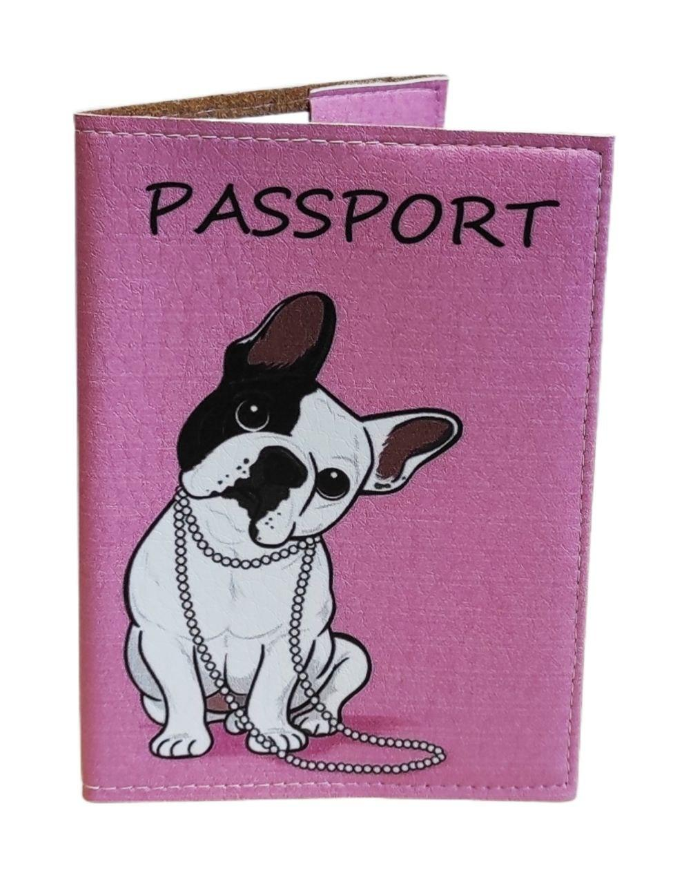 Обложка на биометрический, заграничный или внутренний паспорт с принтом