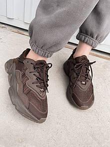 """Жіночі кросівки Adidas Ozweego """"Brown"""""""