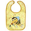 Слюнявчик непромокаемый Пчелка (желтая)