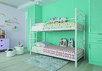 Детская двухъярусная кровать из металла, фото 1