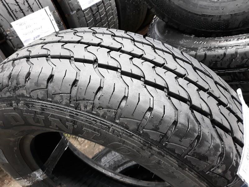Почти Новые! Шины б.у. 215.75.r16с Dunlop Econodrive Данлоп. Резина бу для микроавтобусов