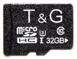 Карта памяти T&G microSDHC 32GB Class 10 UHS-I U3 (TG-32GBSD10U3-00)