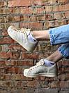 Жіночі кросівки Superstar Beige, фото 3