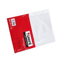 Файл А4+ глянцевый 40мк Axent повышенной прочности