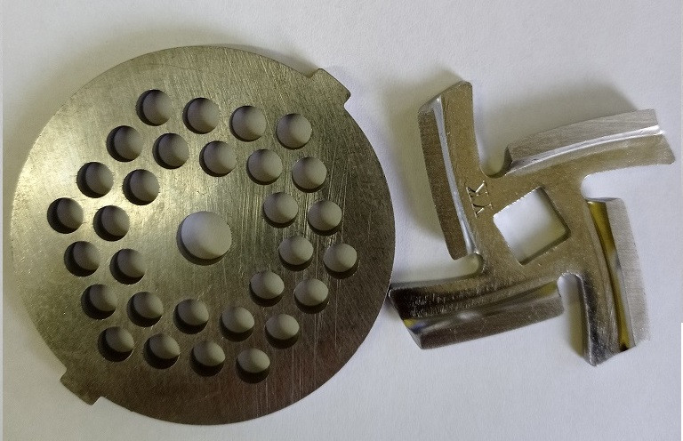 Нож и решетка  для мясорубки (Скарлет ) SCARLETT SC-MG45M08