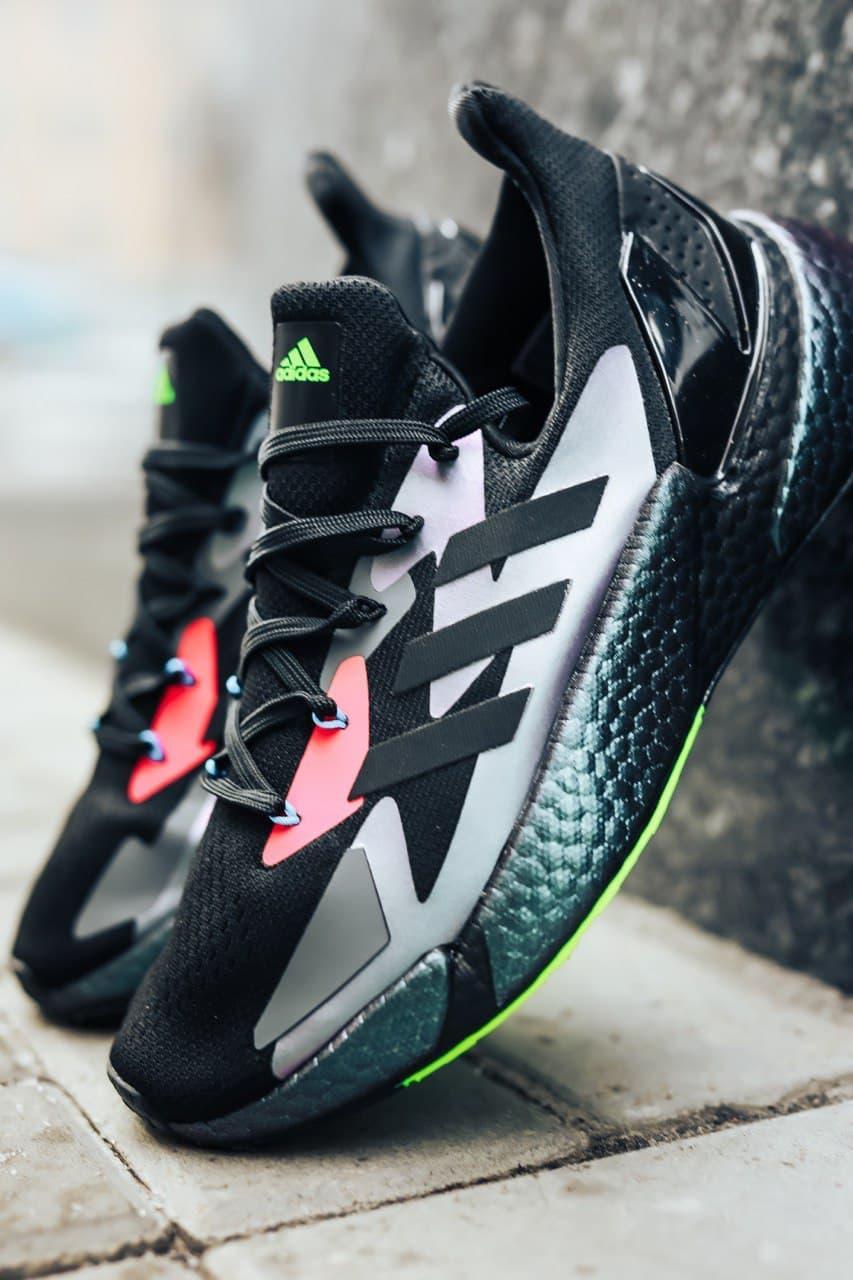 Чоловічі кросівки Аdidas X9000L4 Black Multicolor