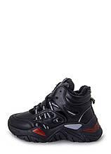 Ботинки женские Optima MS 22717 черный (38)