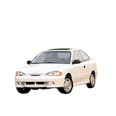Hyundai Accent 1 3дв. хетчбек 1994