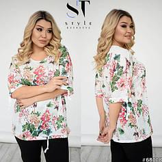 Футболки, блузки, рубашки, туники больших размеров (48-56)