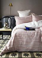 Постельное белье Issimo Home Umbra розовый премиум жаккард 300ТС евро