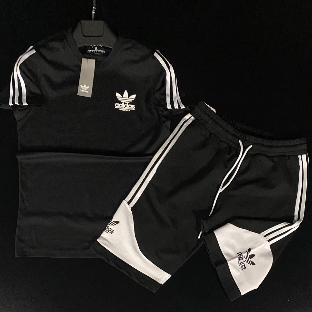 Чоловічий спортивний костюм (футболка і шорти) Adidas Pot Douglah