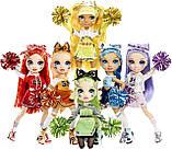 Лялька Мосту Хай Джейд Хантер Cheerleader - Rainbow High Cheer Jade Hunter Green Cheerleader 572060EUC Оригінал, фото 4