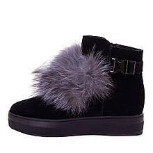 Ботинки женские Optima MS 22154 черный (38)