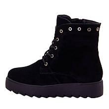 Ботинки женские Optima MS 22150 черный (36)