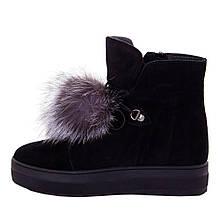 Ботинки женские Optima MS 22131 черный (38)