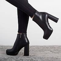 Ботильоны женские Fashion Babalou 2579 36 размер 23,5 см Черный