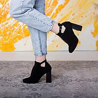 Ботильоны женские Fashion Catu 2645 37 размер 24 см Черный