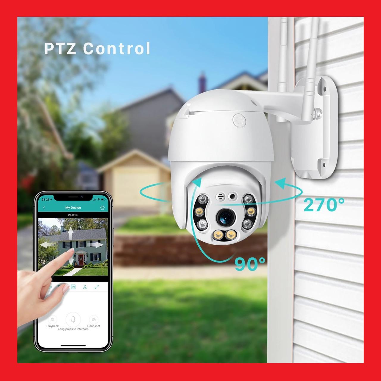 IP WiFi камера N3 3G/4G sim 2.0 Мп з віддаленим доступом вулична